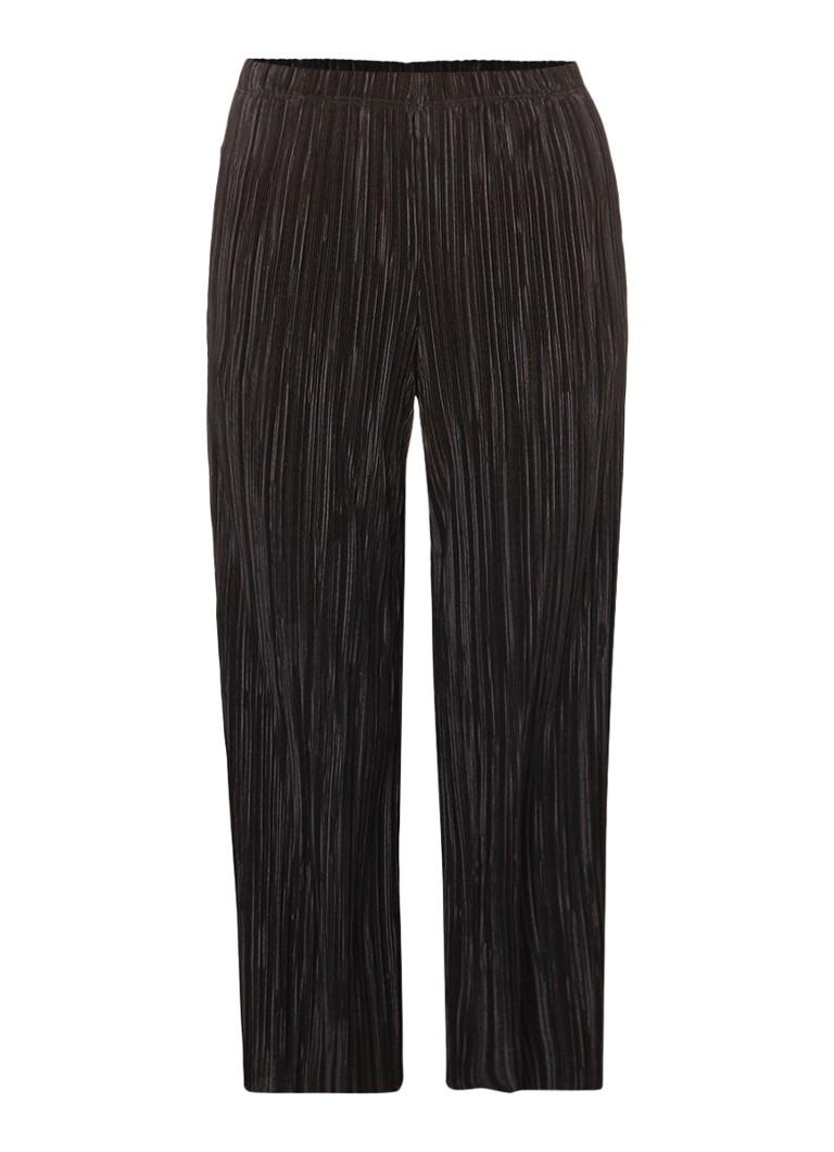 TOPSHOP Plissé culotte met elastische tailleband