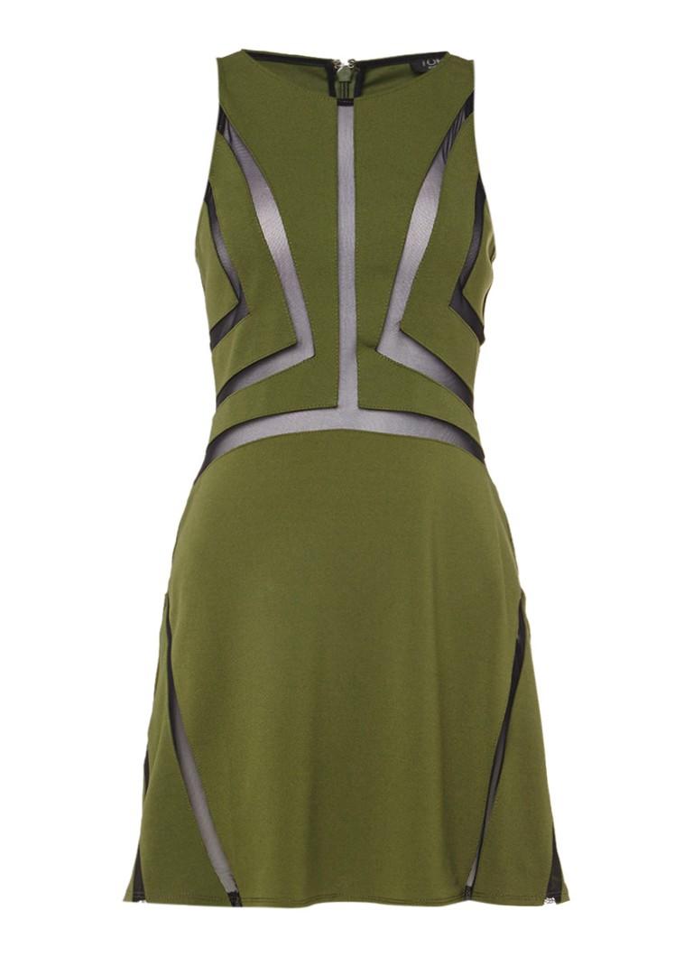 TOPSHOP Alijn jurk met cutout