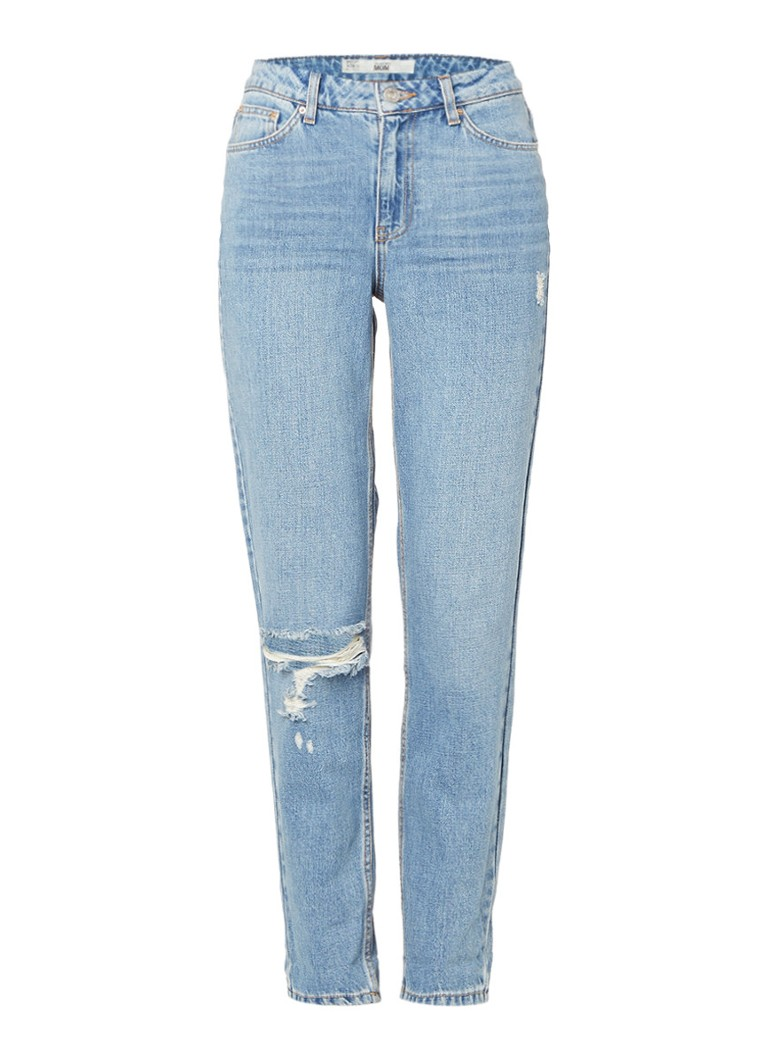 TOPSHOP High waisted mom jeans met