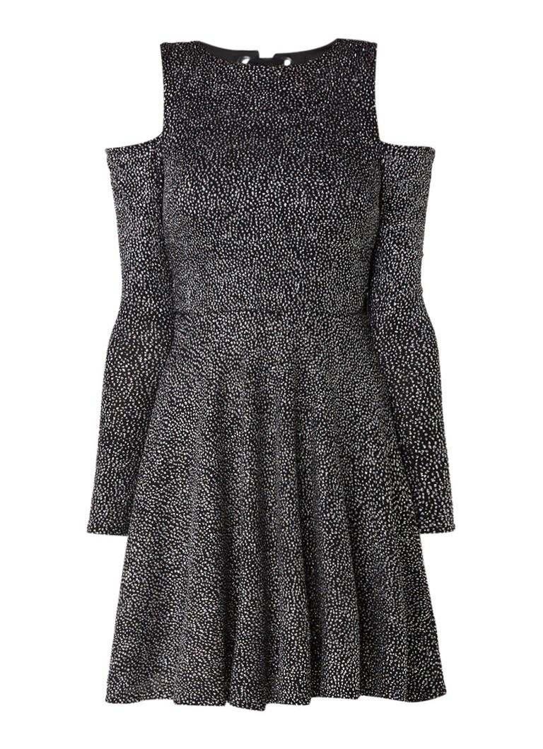 TOPSHOP Cold shoulder jurk met