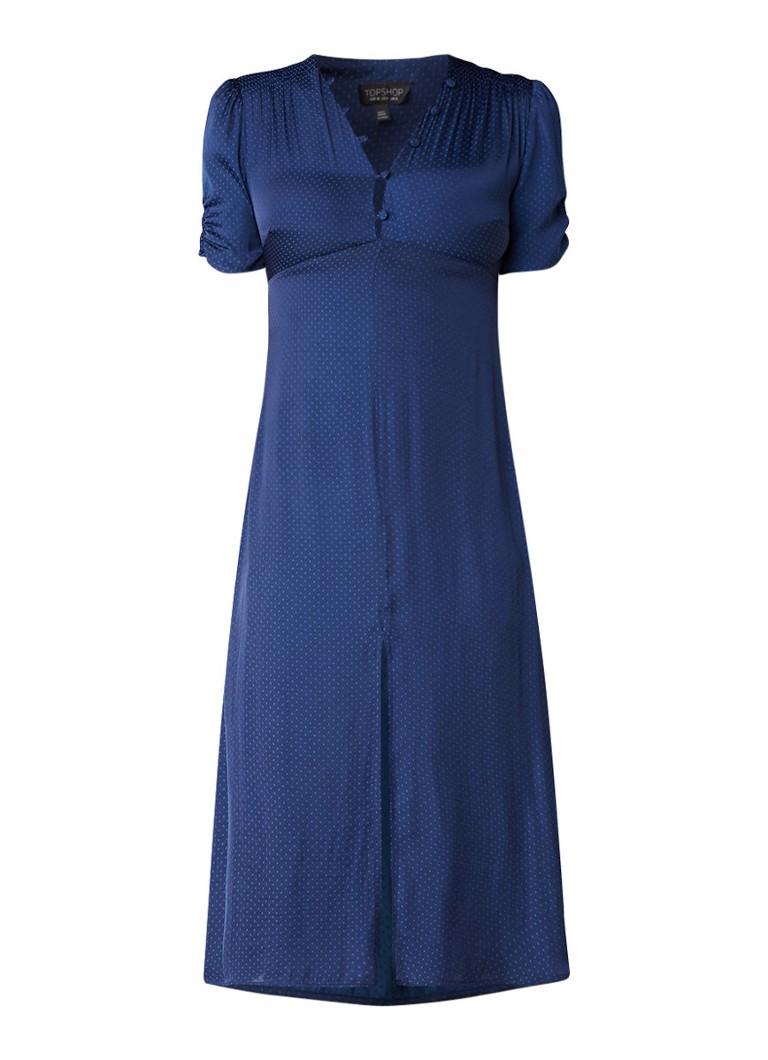 TOPSHOP Midi-jurk met jacquarddessin