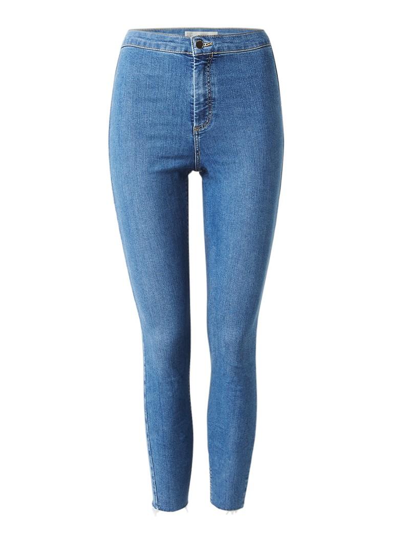 TOPSHOP Joni Super High Waisted Skinny jeans met medium wassing