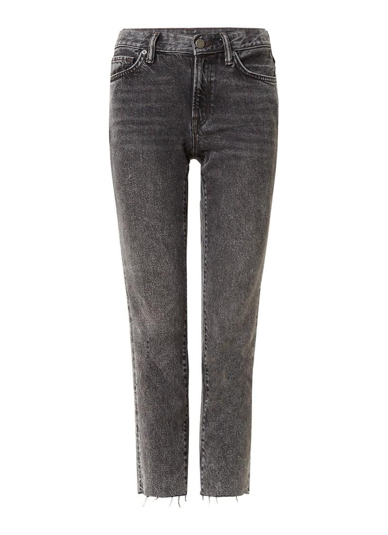 ALLSAINTS Muse high rise slim fit jeans met afgeknipte pijp