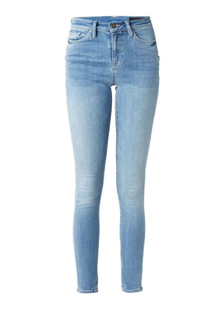 ALLSAINTS Eve high rise skinny jeans met faded look