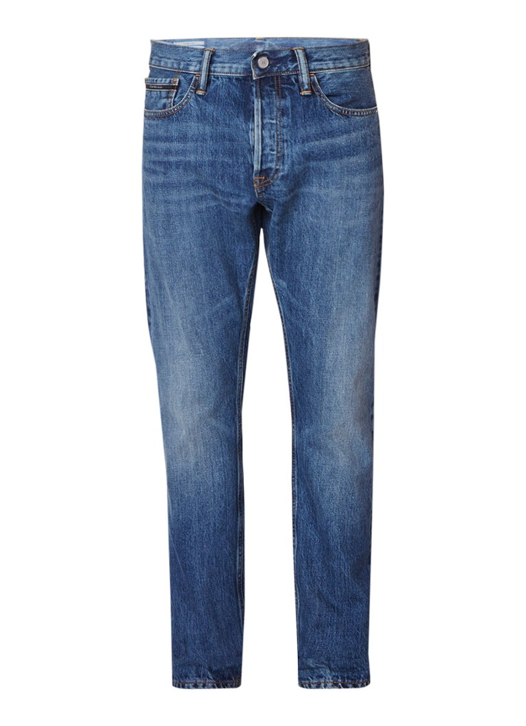 Calvin Klein Japanese Selvedge straight tapered fit jeans