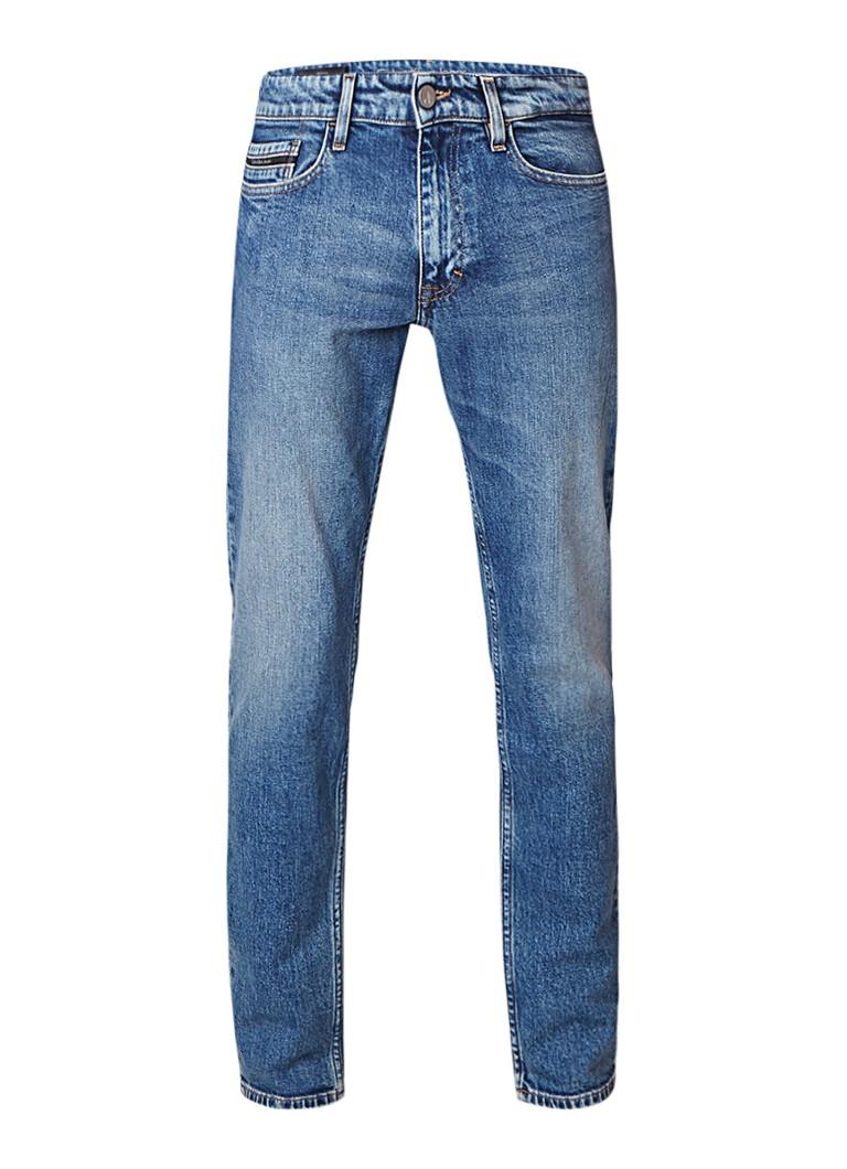 Calvin Klein Isolation low rise skinny fit jeans met verwassen afwerking