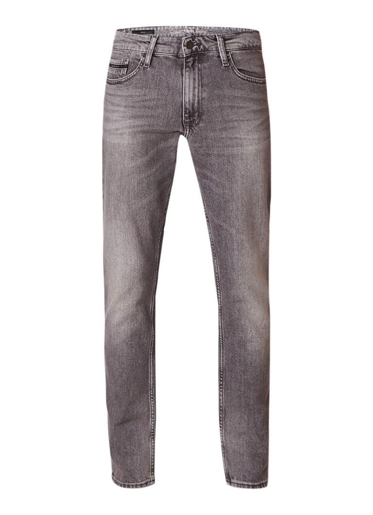 Calvin Klein Brick low rise skinny jeans met verwassen afwerking