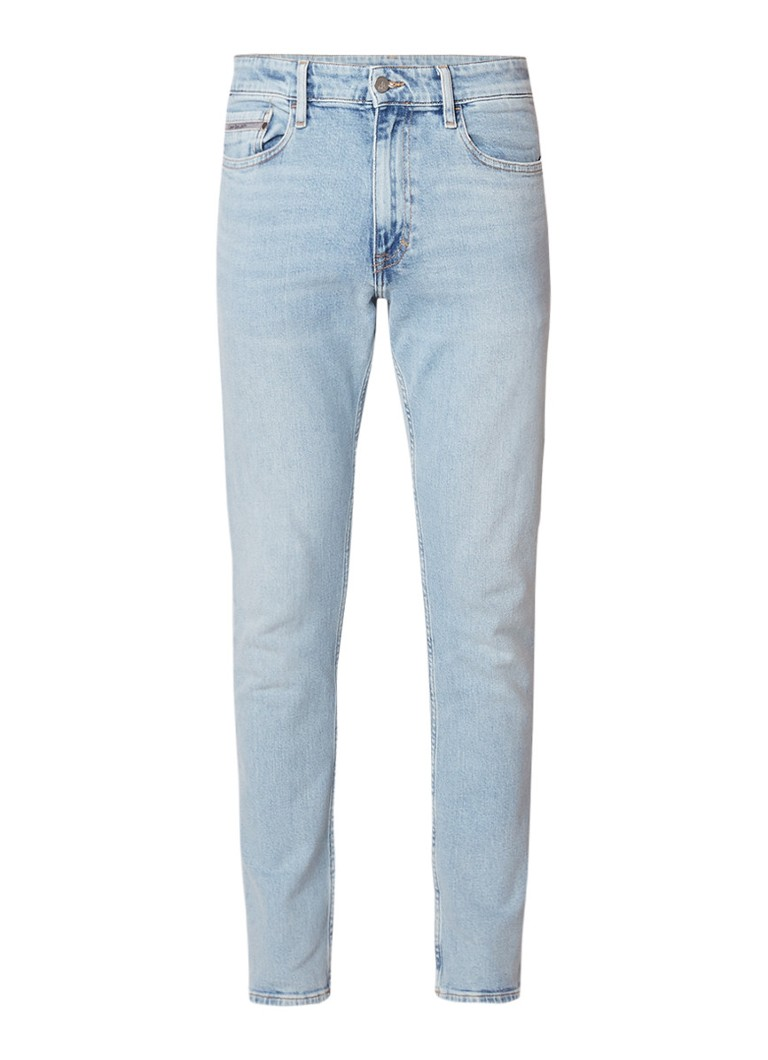 Calvin Klein Lauper skinny fit jeans in lichte wassing