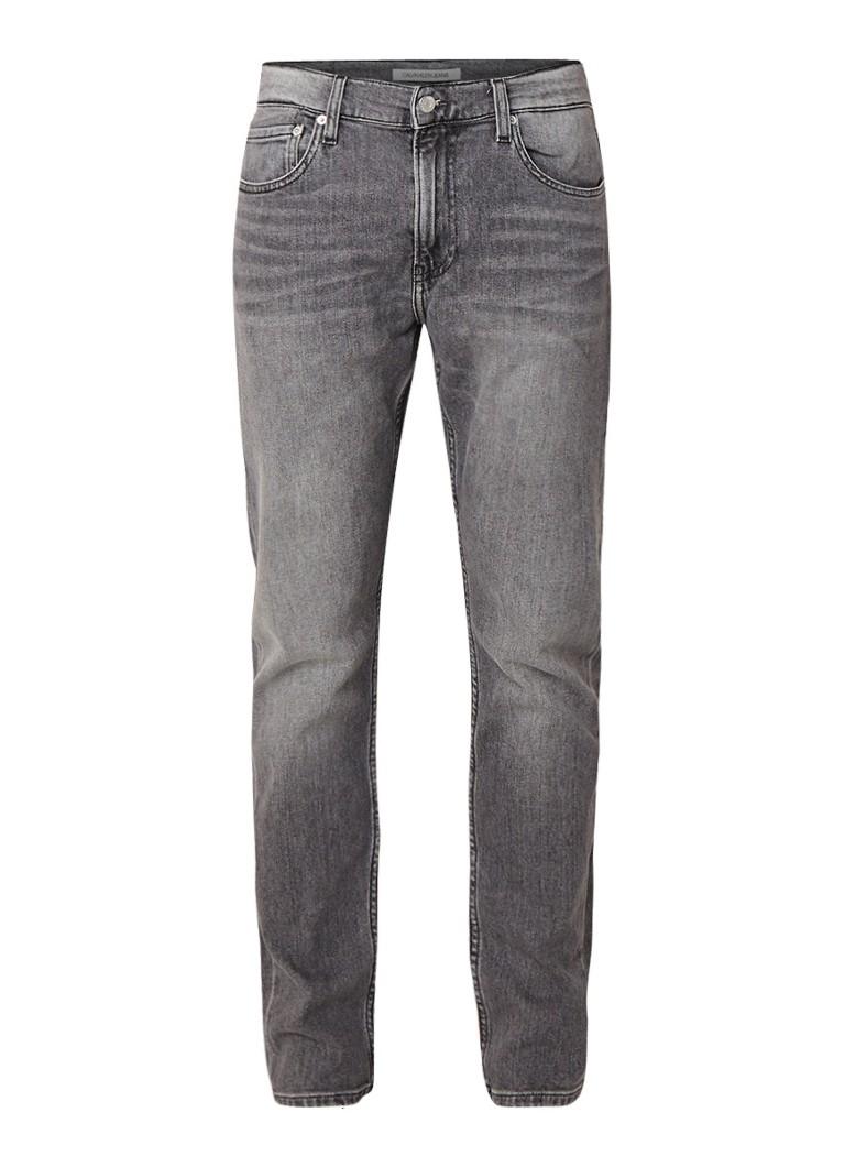 Calvin Klein CKJ 025 slim fit jeans met verwassen look