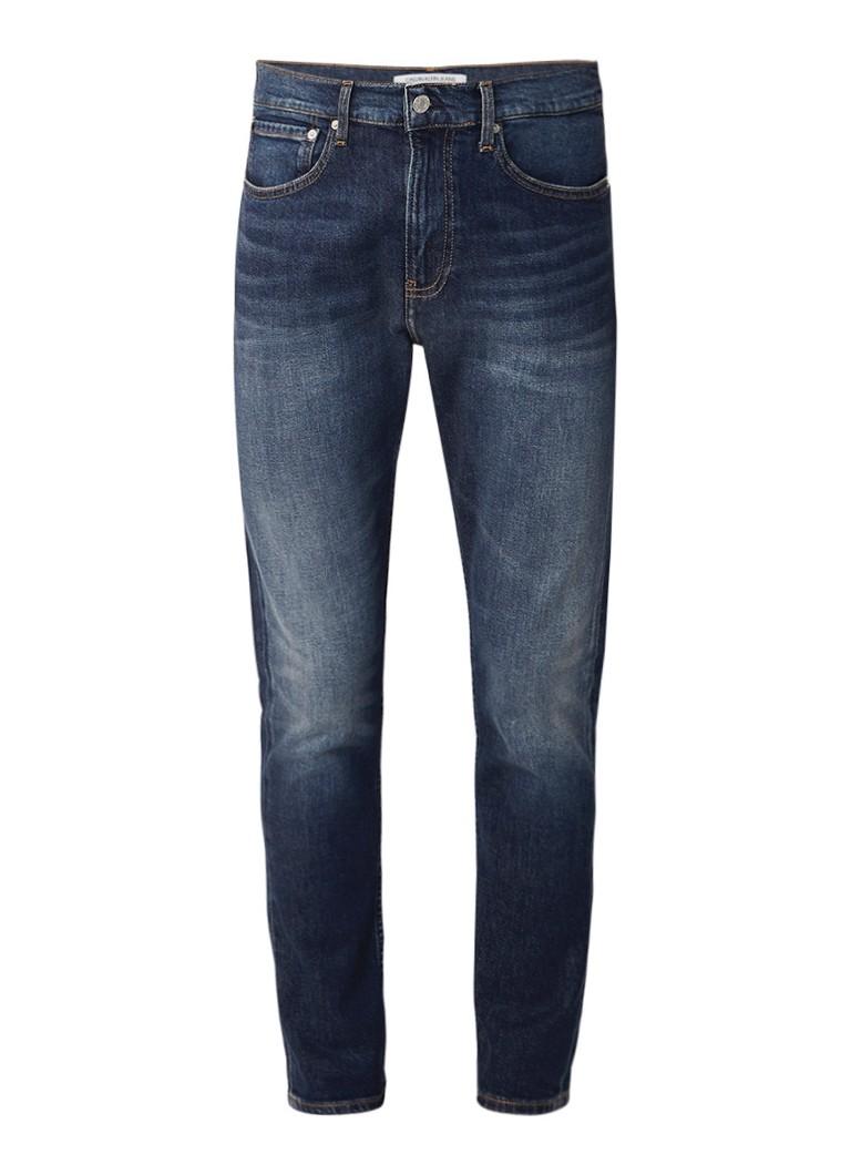 Calvin Klein High rise skinny fit jeans met faded look