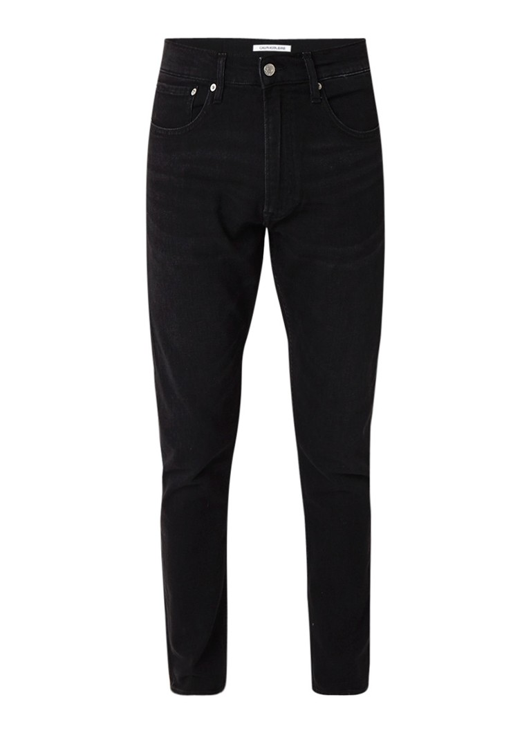 Calvin Klein Athletic mid rise tapered fit jeans