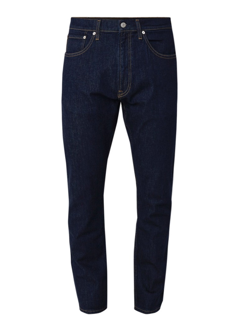 Calvin Klein Andy Warhol tapered fit jeans met print op achterzak