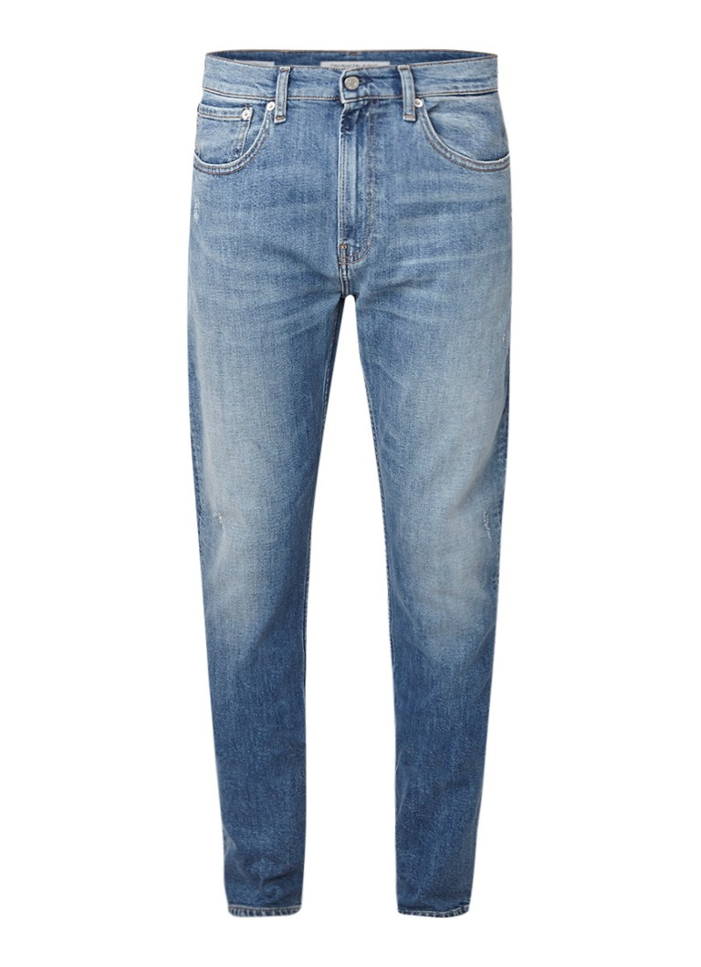 Calvin Klein Skinny fit jeans met faded look