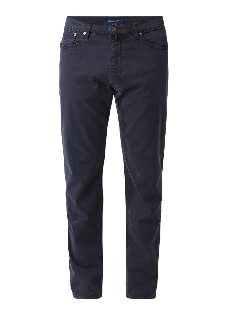 Gant Mid rise slim straight jeans