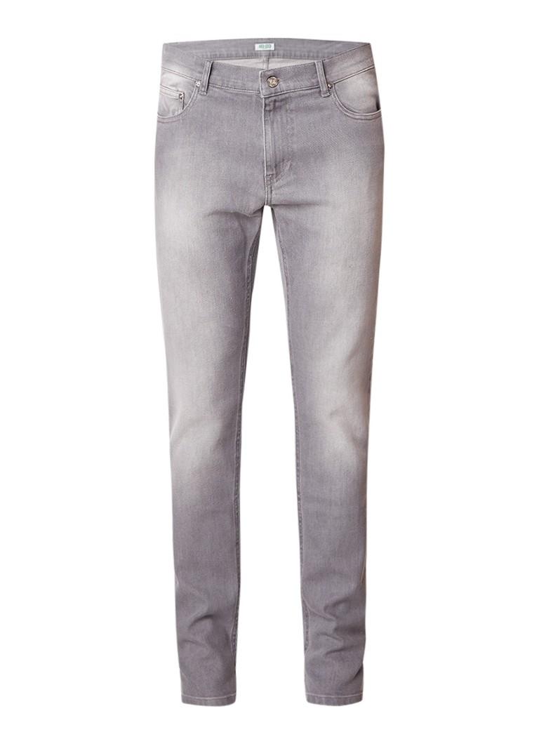 KENZO Mid rise skinny jeans met verwassen afwerking