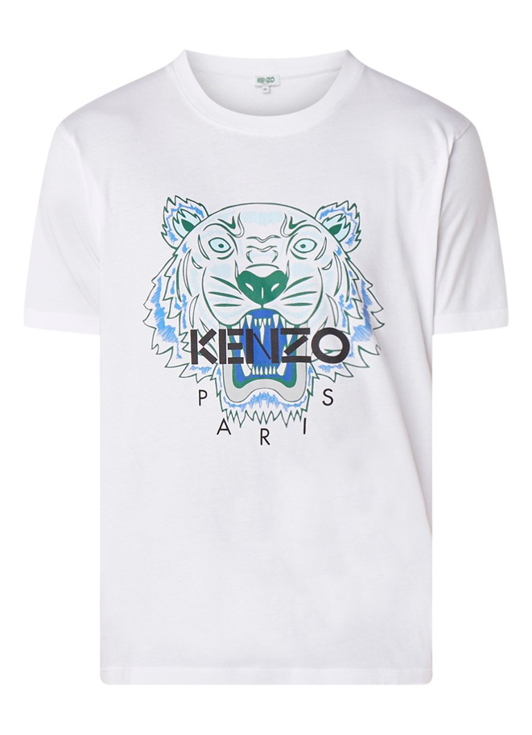 KENZO Icon Tiger T-shirt met logoprint
