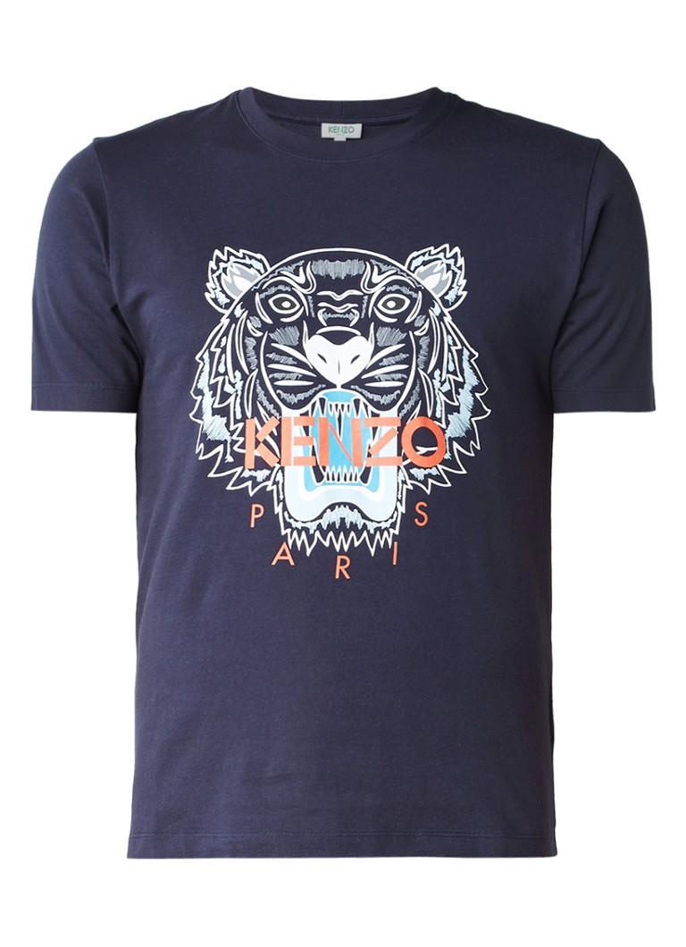 KENZO Tiger T-shirt met logo