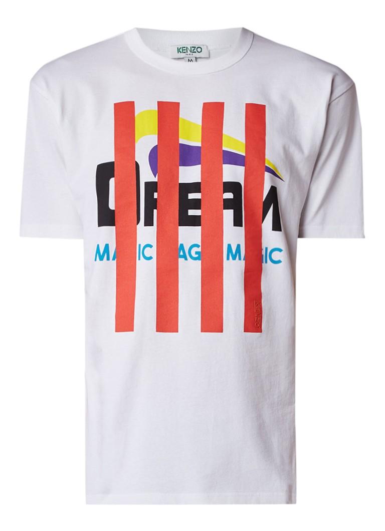 KENZO Stripe Dream T-shirt met opdruk