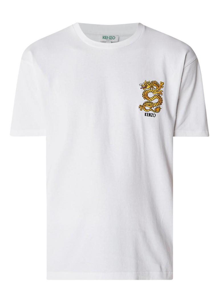 KENZO Dragon T-shirt met borduring