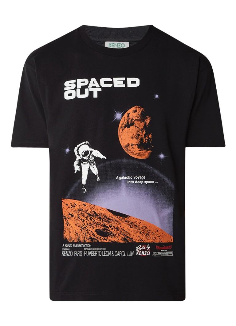 KENZO Space T-shirt met frontprint