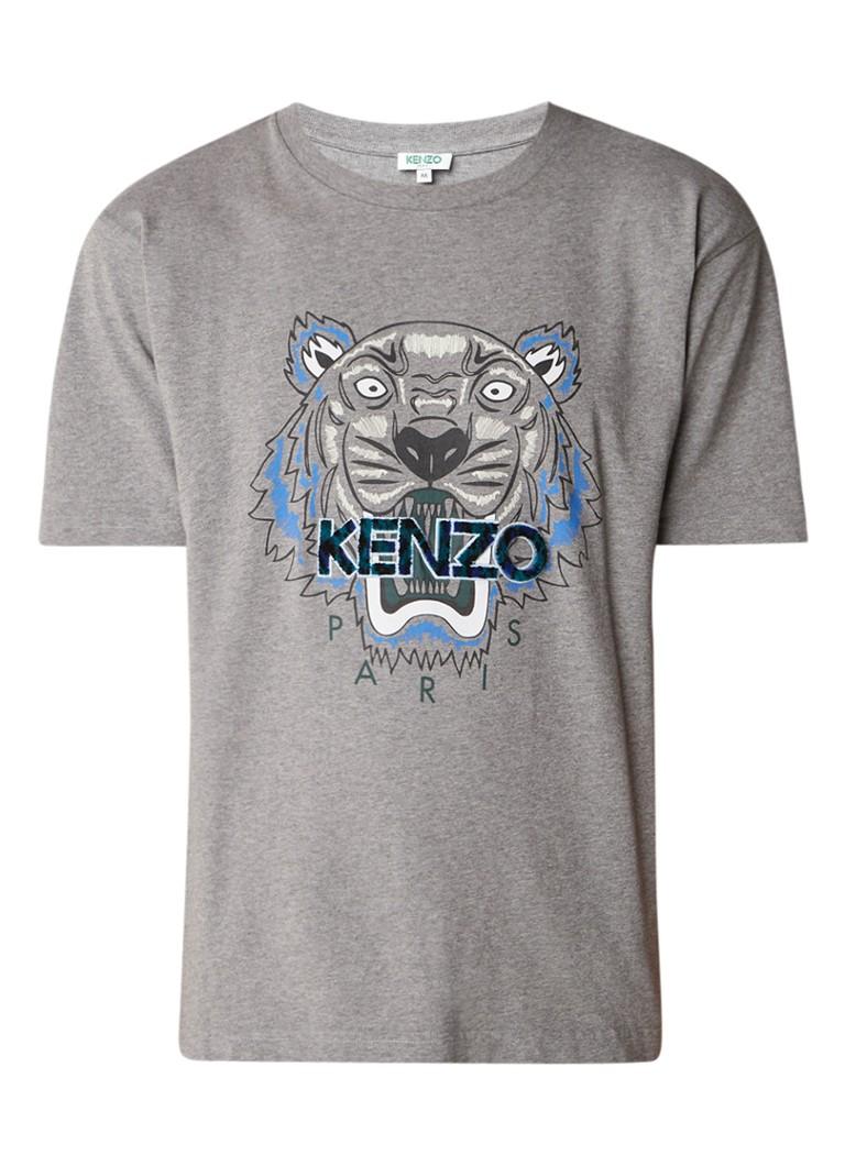 KENZO Icon T-shirt met logo-applicatie