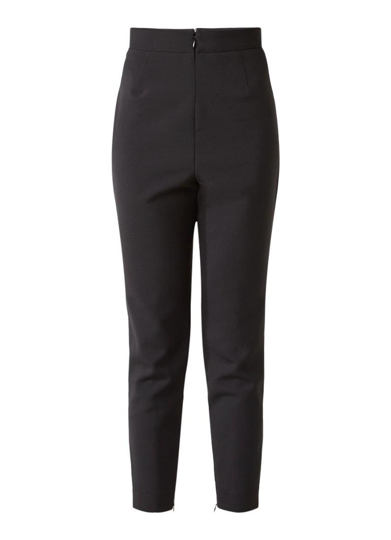 Alexander McQueen Cropped pantalon in wolblend