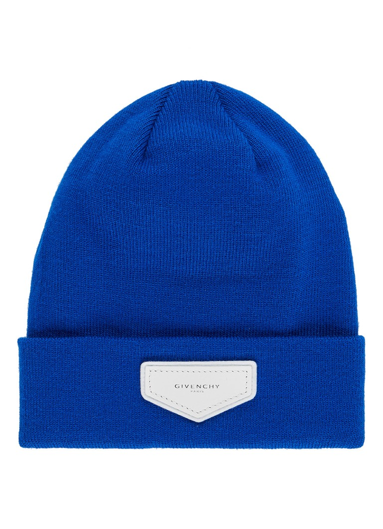 Givenchy Beanie met logopatch