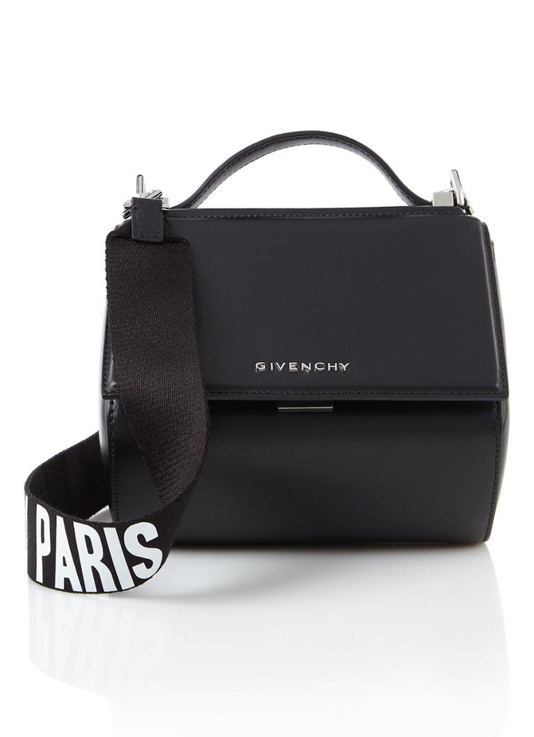 Givenchy Mini Pandora Box Chain handtas van kalfsleer