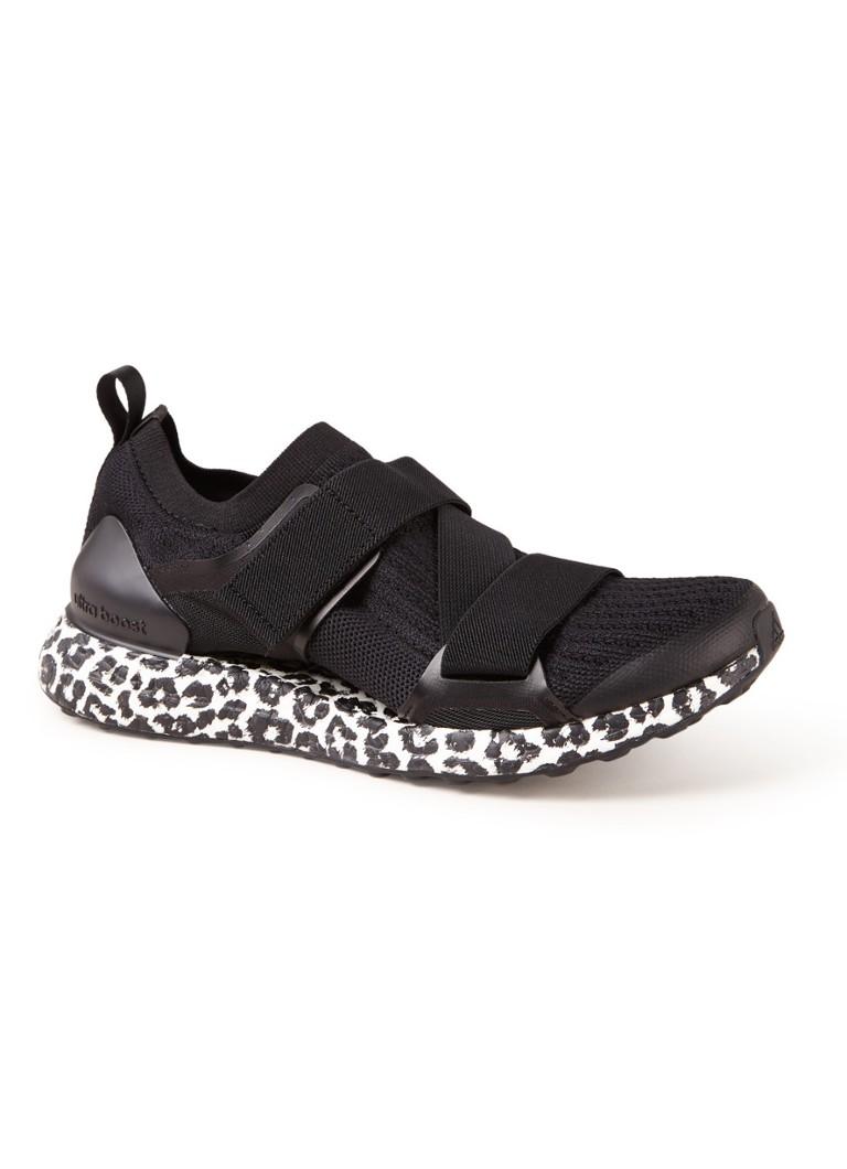 Image of adidas UltraBOOST X hardloopschoen met luipaarddessin