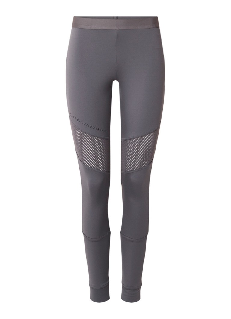 adidas Performance Essentials sportlegging met detail van mesh