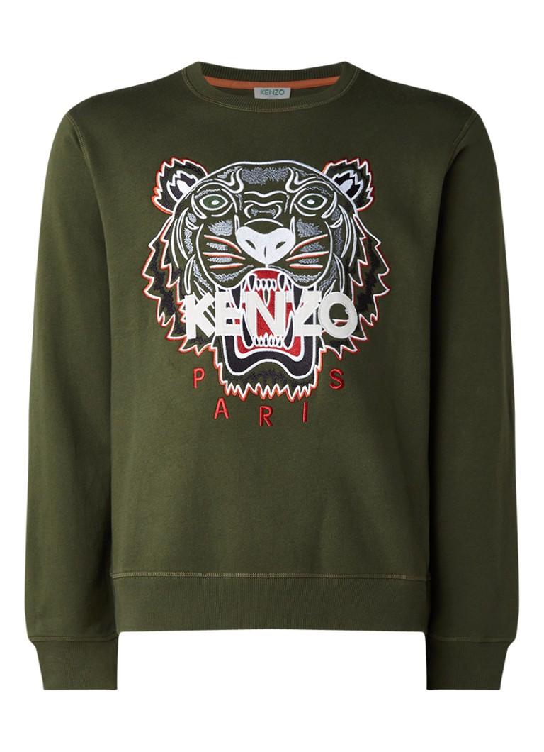 KENZO Tiger sweater met borduring