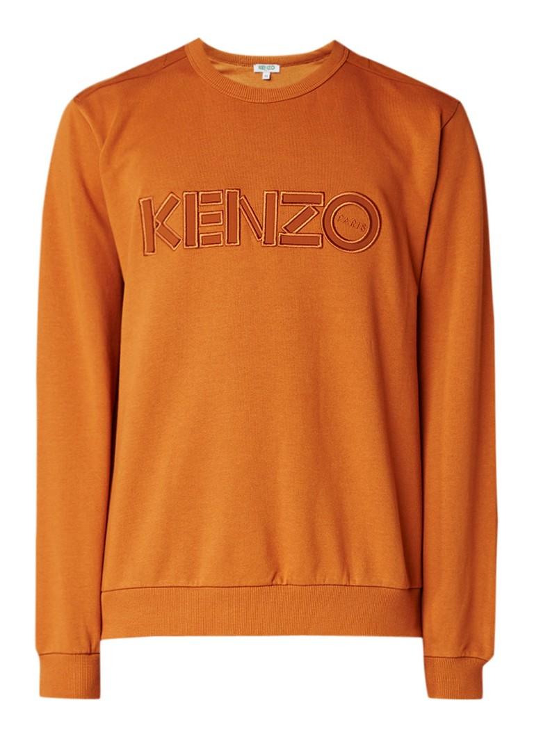 KENZO KENZO Logo sweater met logoborduring