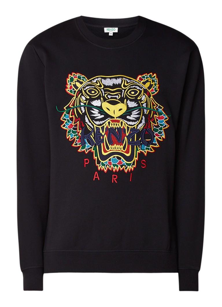 KENZO Dragon Tiger sweater met borduring