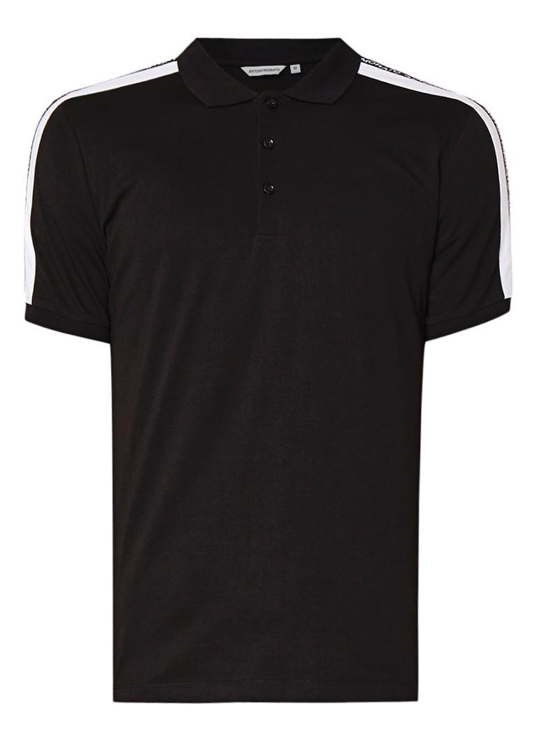 Antony Morato T-shirt van katoen met logoband