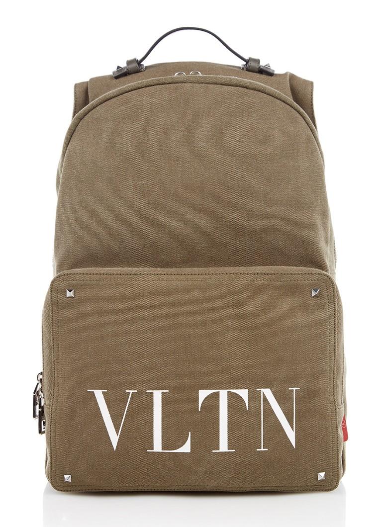 Valentino VLTN rugtas met leren details