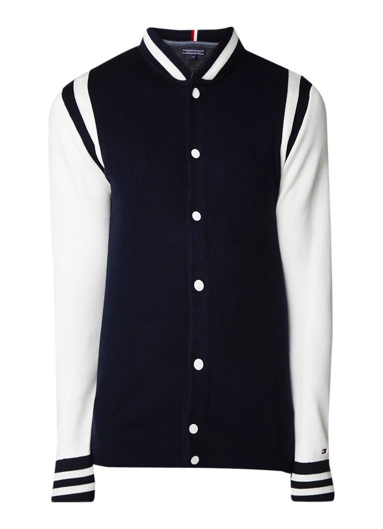 Tommy Hilfiger Jamieson baseball vest met colour blocking