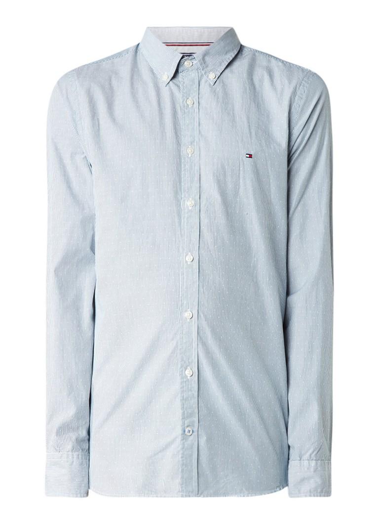 Tommy Hilfiger Slim fit overhemd met button down-kraag