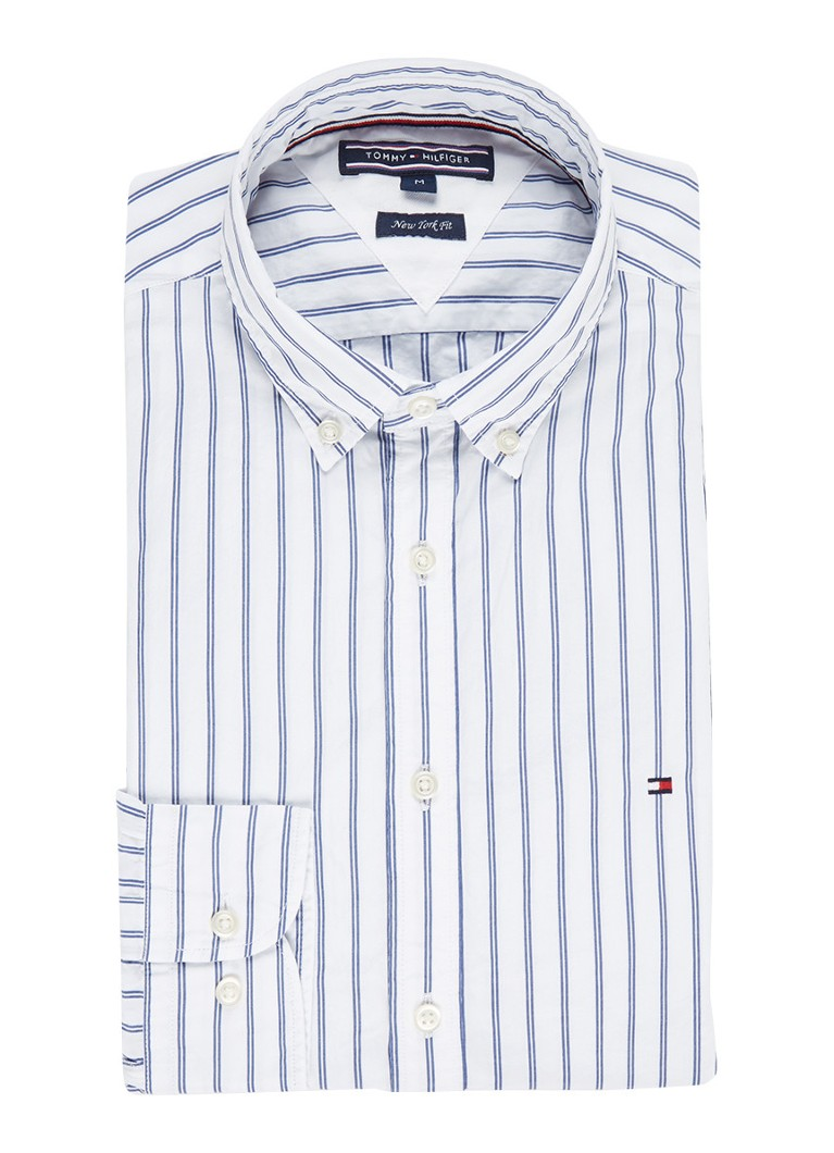 Tommy Hilfiger New York Fit button down-overhemd met streepdessin