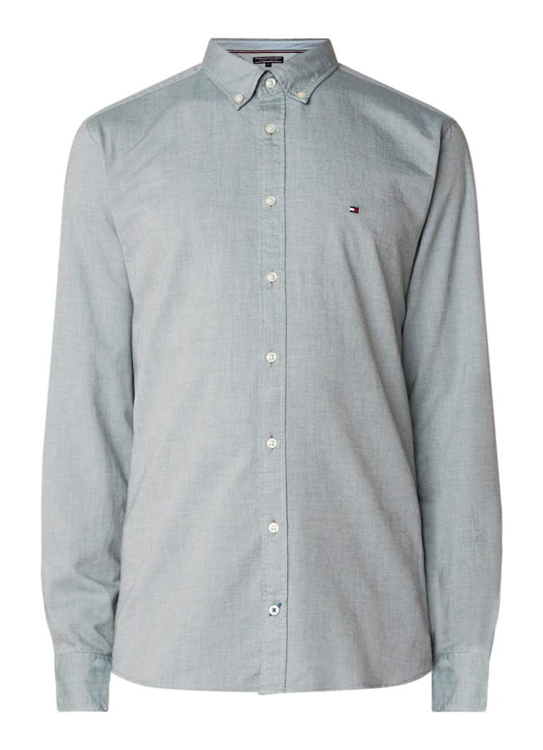 Tommy Hilfiger Heather regular fit button down-overhemd