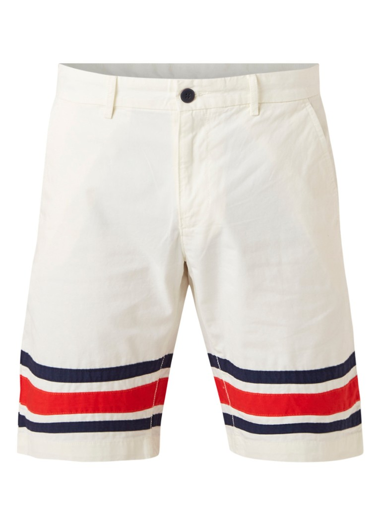Tommy Hilfiger Relaxed Worker shorts met streepdetail