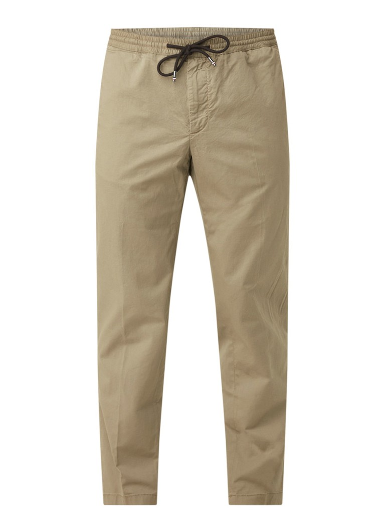 Tommy Hilfiger Active tapered fit pantalon met trekkoord