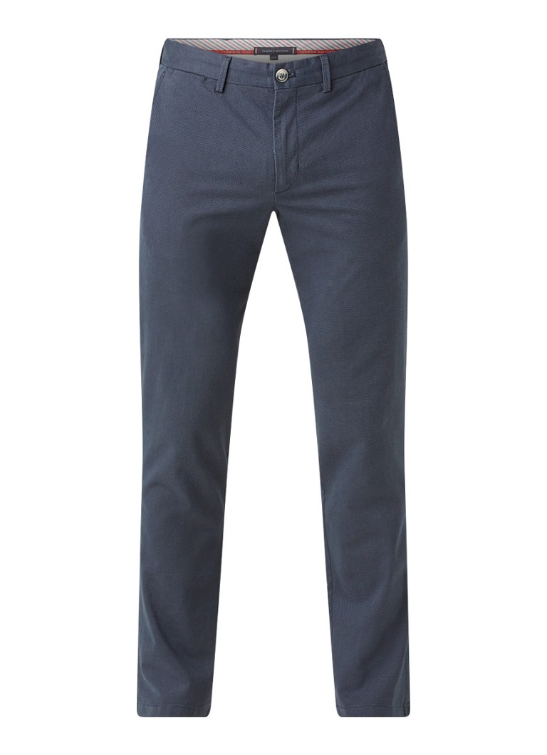 Tommy Hilfiger Slim fit pantalon met stretch