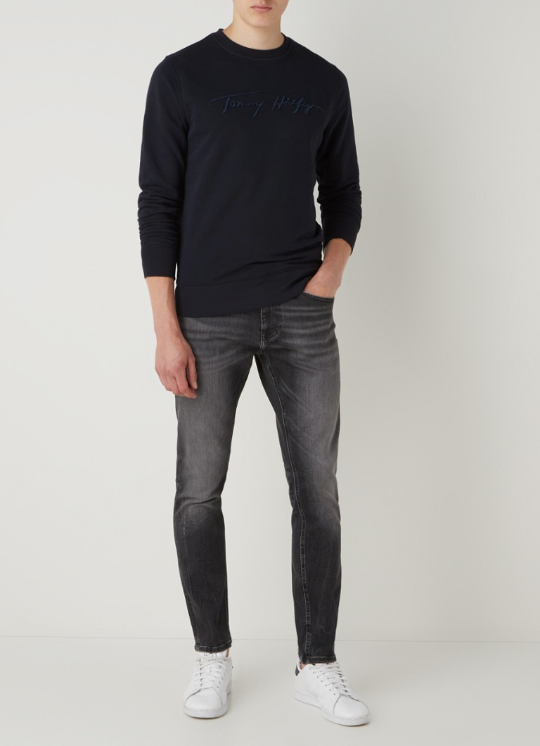 Tommy Hilfiger Sweater met logoborduring
