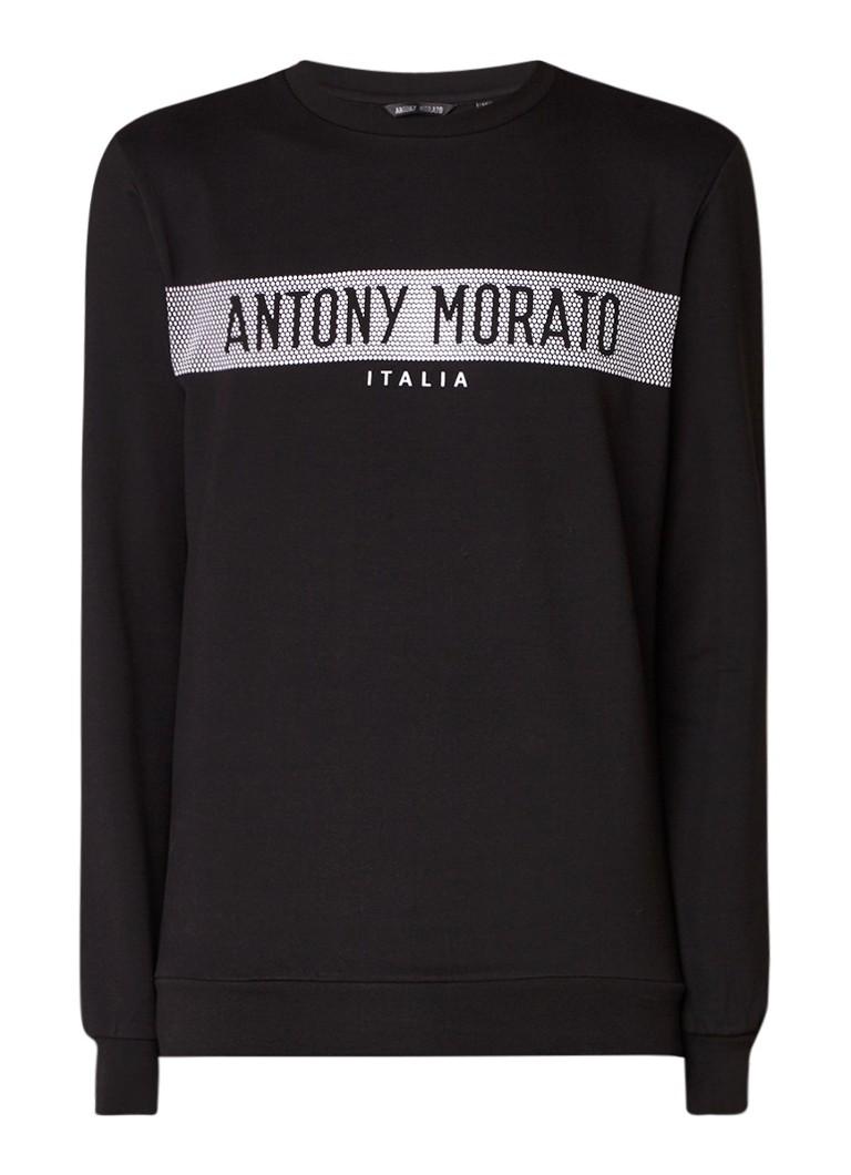 Antony Morato Sweater met logoprint