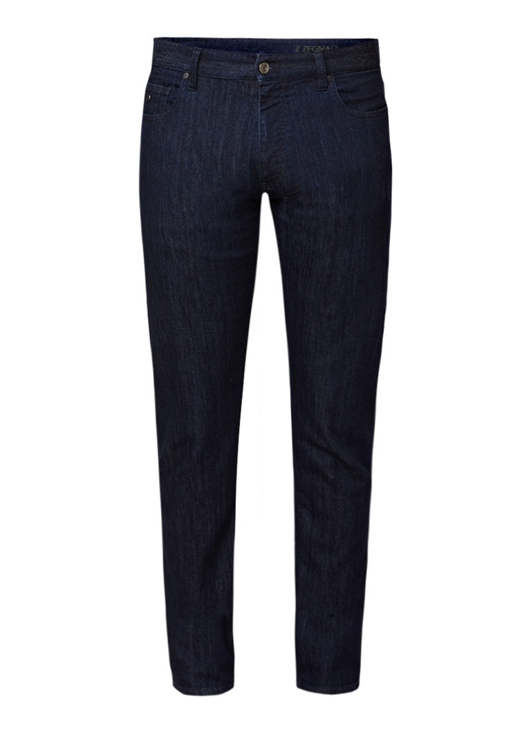 Z Zegna Straight fit jeans in