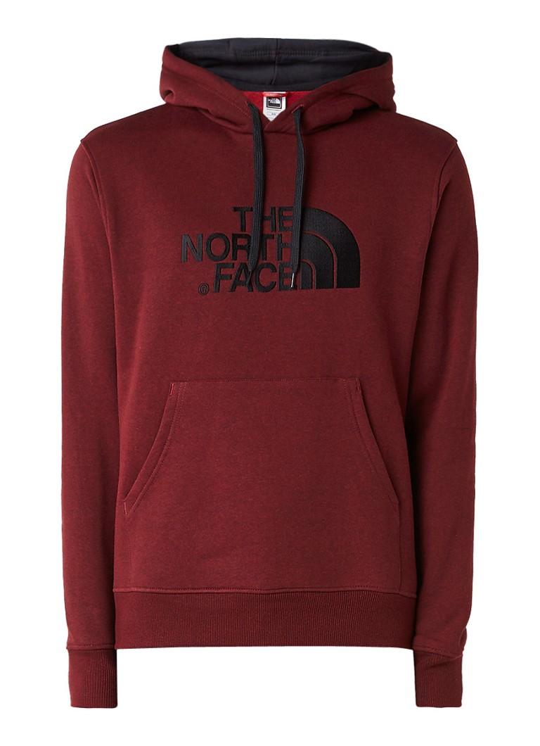 The North Face Hoodie met geborduurd logo en buidelzak