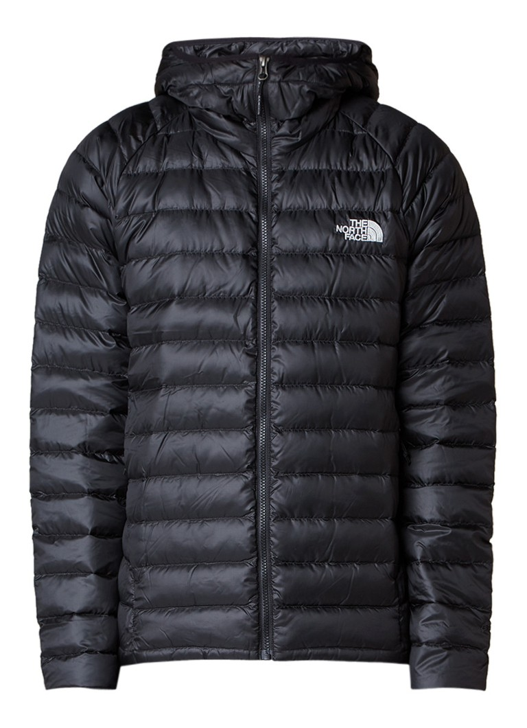 The North Face Trevail donsjack met capuchon en logobordurin