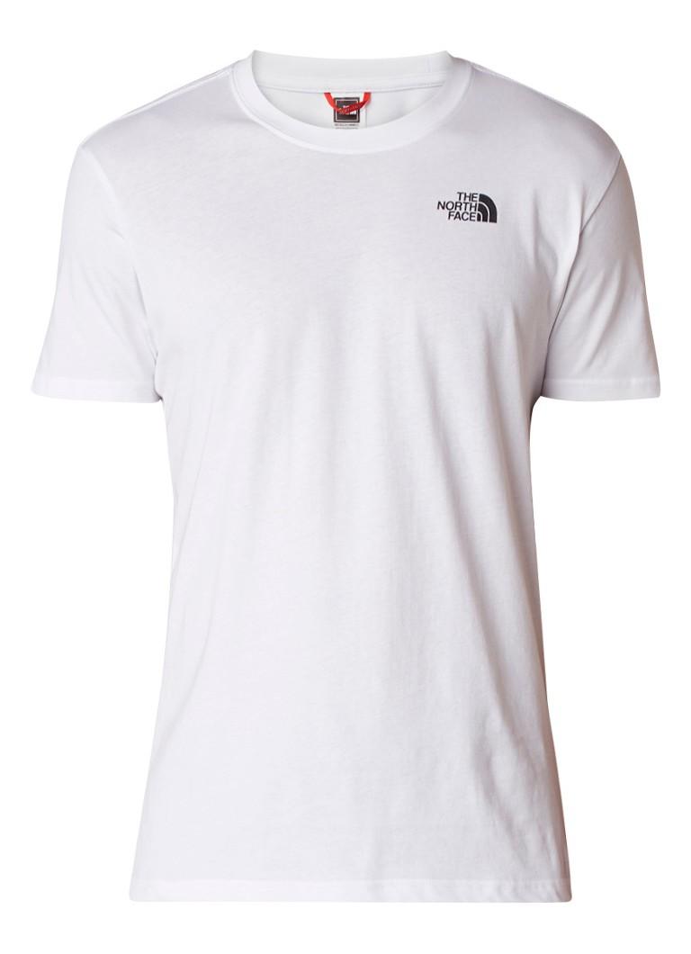The North Face T-shirt met logo op achterpand