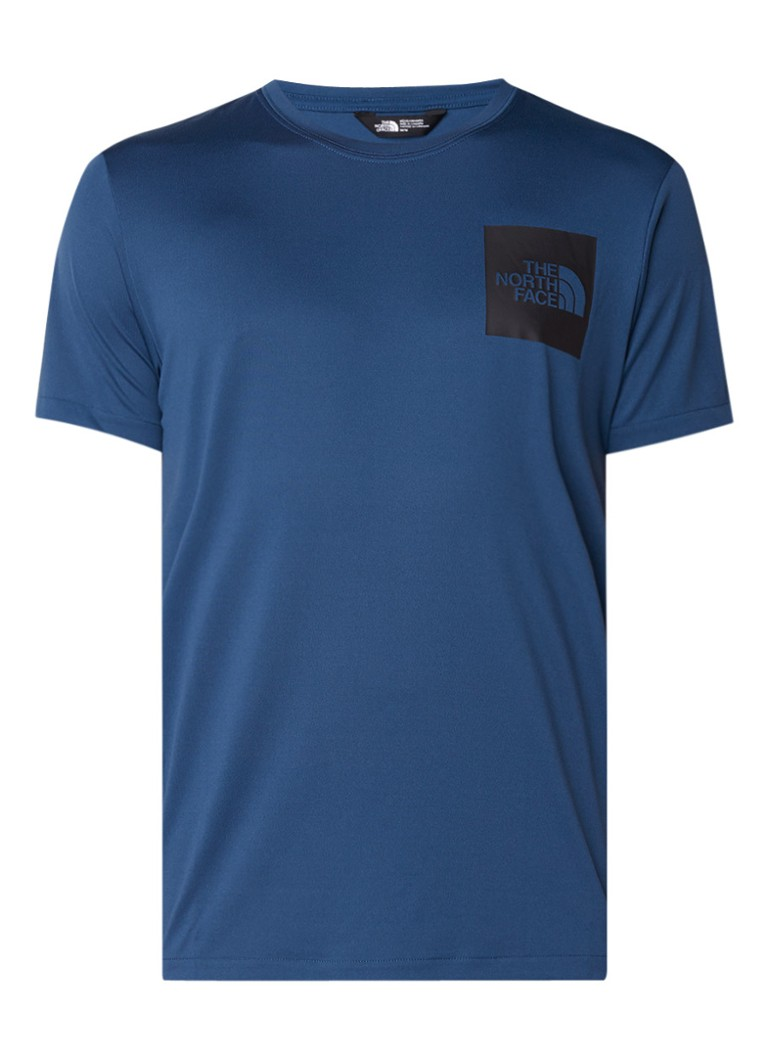 The North Face Fine Tech T-shirt met logoprint