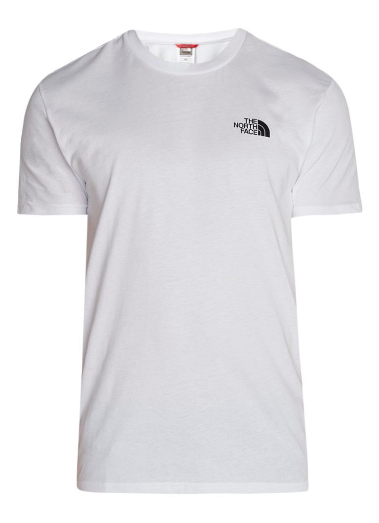 The North Face T-shirt met logoprint